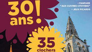 35 clochers en Vallée de l'Automne