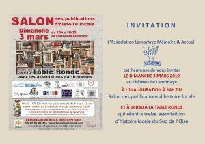 Salon des publications d'histoire locale, Aquilon