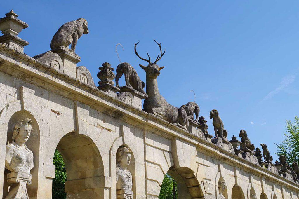 château de Raray, Aquilon, Aquilon Découverte, visite, histoire, architecture, archéologie, Senlis, Chantilly, Compiègne, tourisme, Valois, Oise, famille, comité d'entreprise, groupe, château