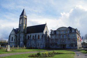 Visite de l'abbaye Saint-Vincent de Senlis